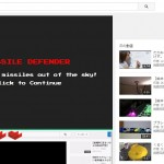 YouTubeで新たな裏技コマンド発覚!!動画再生中にある事をすると…ゲームが!?
