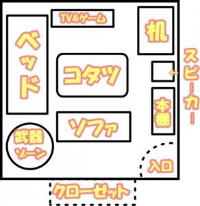 きりざきえいじ桐崎栄二妹の部屋を大公開!【画像】42