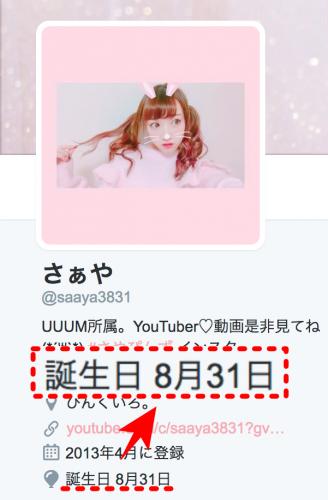 さぁや 今井彩矢佳 誕生日 年齢02